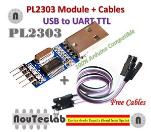 USB PL2303 To RS232 TTL Converter Adapter Module PL2303HX for Arduino