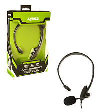 KMD Live Chat Gamer Headset For XBOX ONE Brand New