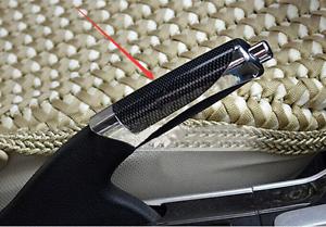 1pc Carbon Fiber Accessory Universal Hand Brake Protect Handle Cover Trims Black