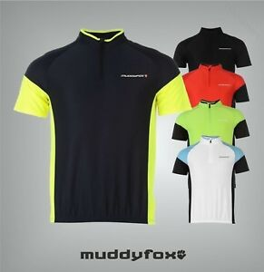 Mens-Branded-Muddyfox-Breathable-Short-Sleeved-Cycling-Jersey-Top-Size-S-XXXXL