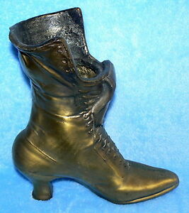 wholesale where can i buy cute cheap Details about BOOT VASE BRASS AND POT METAL OLD LADY WHO LIVED IN A SHOE 9