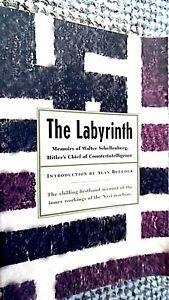 THE-LABYRINTH-WALTER-SCHELLENBERG-MEMOIRS-HITLER-039-S-COUNTERINTELLIGENCE-CHIEF