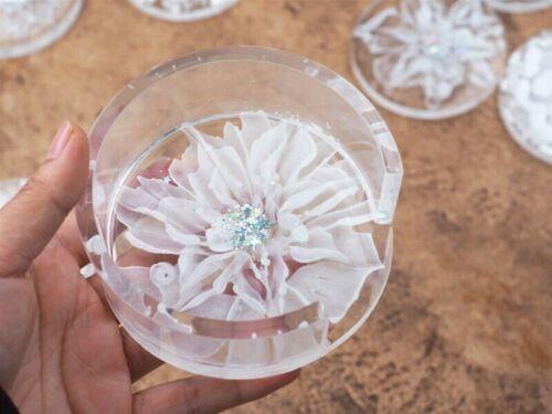 Silicone Coaster Mat Storage Holder Set Resin Mould  Casting Mold Craft DIY