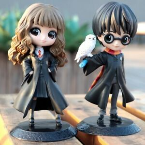 Harry-Potter-Anime-Q-Posket-Doll-Cute-Big-Eyes-Hermione-Snape-Collectible-Figure
