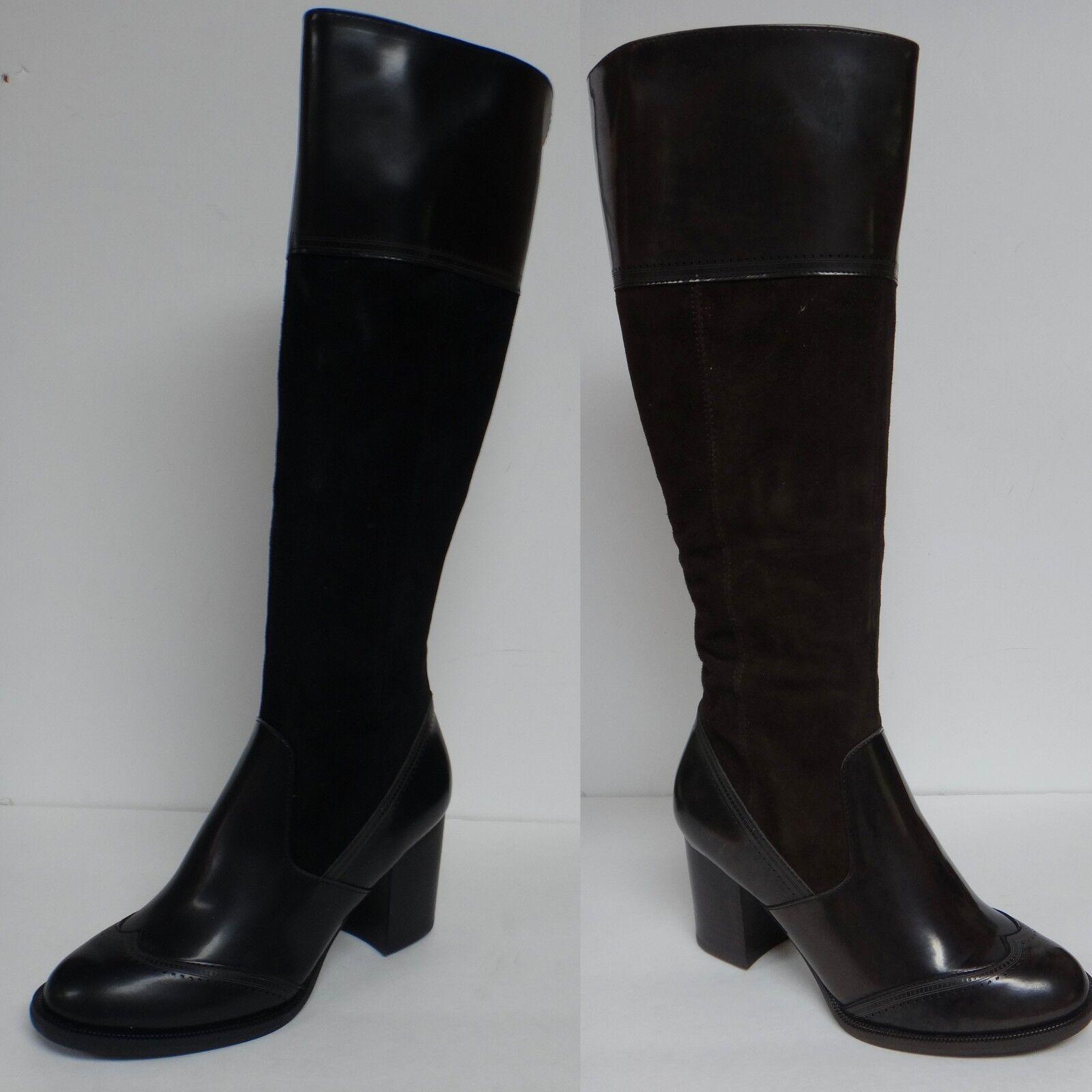 "Nicole ""ALYSSA"" Women's Boots Leather Upper Inside Zipper PU & Leather Upper"