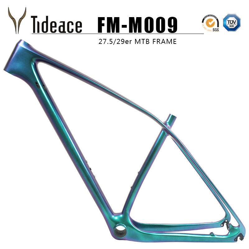 29er Carbon OEM T800 Mountain Frames Bicycle Aero Glossy MTB Bike Frameset