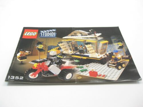 LEGO STUDIOS 1352 INSTRUCTION MANUAL BOOK ONLY EXPLOSION STUDIO