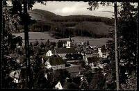 Lenzkirch Hochschwarzwald Ansichtskarte ~1950/60 Gesamtansicht vom Wald gesehen