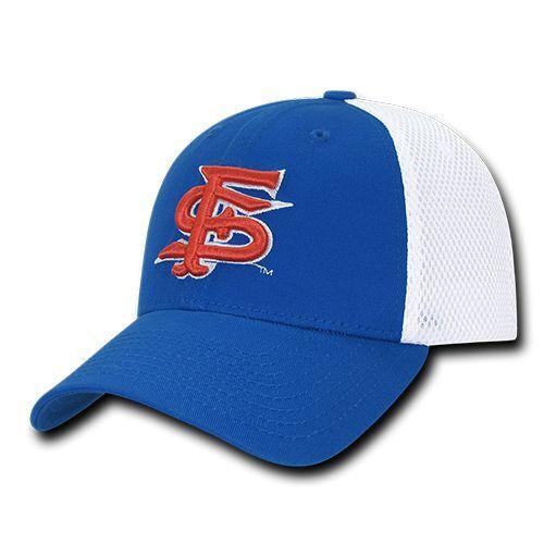 Fresno State Bulldogs Cal State St Flex Maille Baseball Ajustée Casquette Chapeau