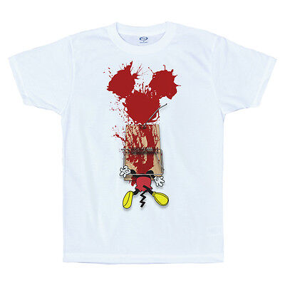 Mickey Trapped T Shirt Design Mouse Trap