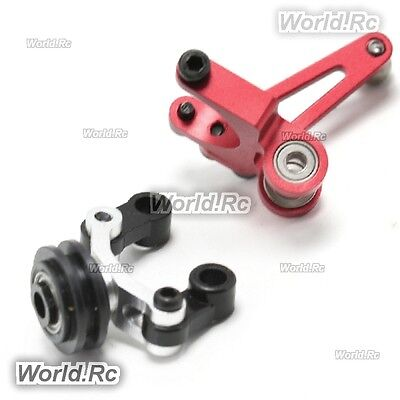 Devil 450 Silver Tail Control Arm Assembly With Bearings For TRex 450 V2 V3 PRO