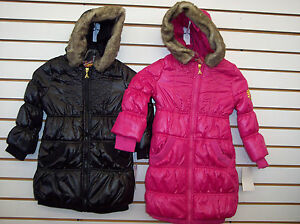 78e7d1fbaee0 Girls Akademiks  110 Jet Black or Fuchsia Purple Thigh Length Jacket ...