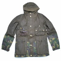 BARBOUR Limited Edition by TO KI TO Camo Fishing Jacket, Waxed Cotton