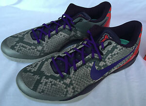 7eb8f0507243 Nike Zoom Kobe 8 VIII System Pit Viper 555035-003 Basketball Shoes ...