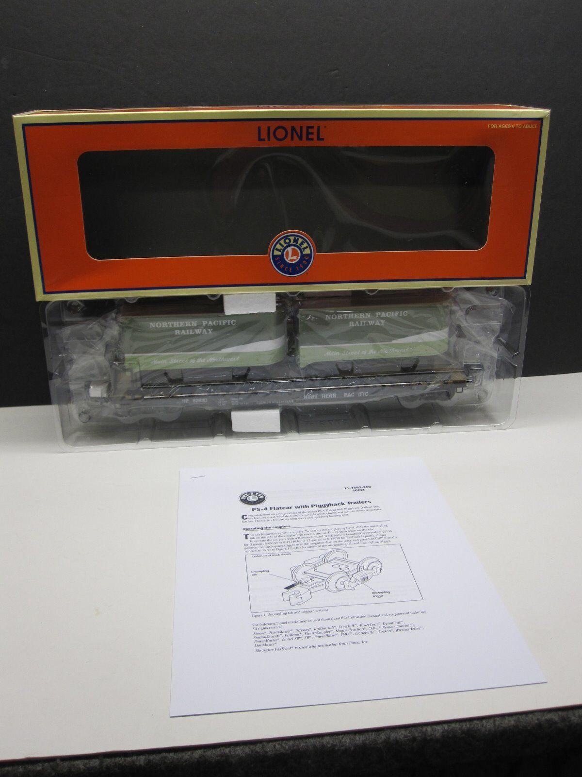 Lionel 6-27531 Pacífico Norte Ps-4 electrónica w piggyback remolques Caja Original