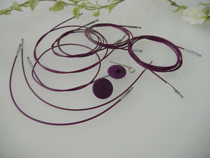 KnitPro-Ago-FUNE-40-50-60-80-100-120-U-150-cm-in-viola-argento