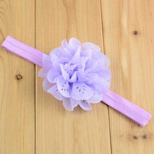 Kids Large Mesh Flower Hair Accessory Hairband Baby Girls Cute Headband Headwrap