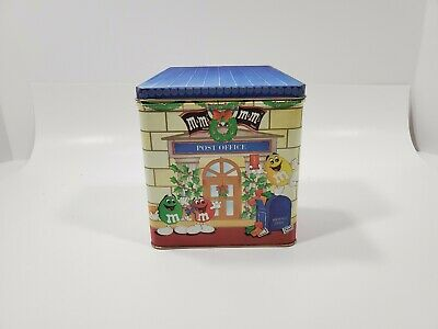 M M S Candy Christmas Post Office 1995 Letters For Santa Limited Edition Tin Ebay