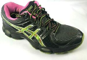 Asics-Gel-IGS-Running-Shoes-Women-039-s-Size-US-8-EU-39-5-1291N-Black-Multi