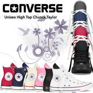 Converse-Women-Men-Unisex-All-Star-High-Top-Chuck-Taylor-Trainers-FREE-P-amp-P