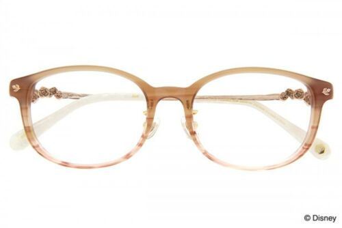 NEW Disney Collection Princess Line Belle Basic Color glasses from JAPAN  F//S