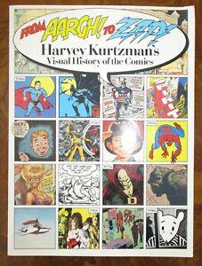 From-Aargh-To-Zap-Harvey-Kurtzmans-Visual-History-Of-The-Comics-1991-Oversized