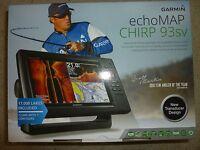 Garmin Echomap 93sv Inland Chirp Fish Finder/chartplotter Combo 010-01804-01