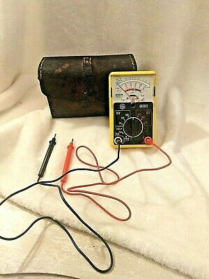 Ge 2527 multimeter user manual.