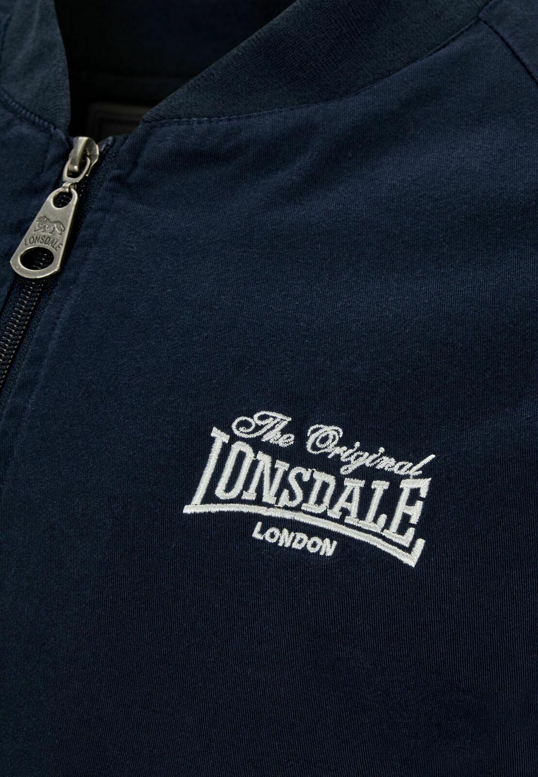 LONSDALE Veste BORGUE Homme 113534 Neuf Navy Blue Bleu Printemps 2020
