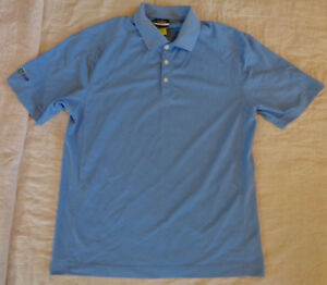 aeddea513e834 Details about NWOT NIKE FIT GOLF POLO,DRI FIT,PLY DRY,COOL,S/S SHIRT,MEDIUM  MEN,BLUE,EXCELLENT