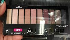 Wetnwild Eyeshadow Pallete Purple 754A Nude Awakening Au Naturel