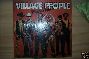 ORIG-Vinyl-Record-Macho-Man-by-the-Village-People-HOT