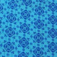 Mediterranean Dream Quilt Fabric 1 2 yard Turquoise Foulard 22479-q Craft Supplies