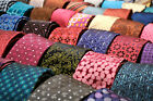 LOT 75 MENS NECK TIES SILK POLYESTER MIX VINTAGE TIE QUILT CRAFT WHOLESALE LOTS