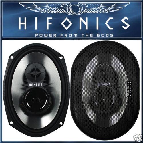 = HIFONICS tx693 6 x 9 triax Arrière Haut-parleurs