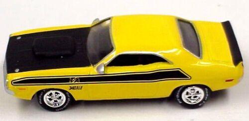 Johnny Lightning Irregular 1970 Dodge Challenger yellow /& black blank in bag