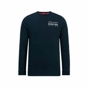 Red-Bull-Racing-F1-Unisex-Long-Sleeve-Logo-T-Shirt-Blue