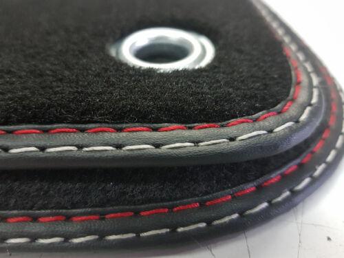 Alfombras tapices para jaguar x-type cf1 calidad original gamuza//soporte de metal