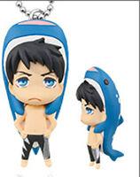 Free! - Iwatobi Swim Club Sousuke Whale Mascot Key Chain Anime Licensed MINT