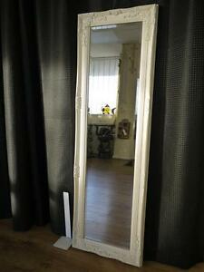 Tall Cream Dressing Room Full Length Floor Wall Mirror Ebay