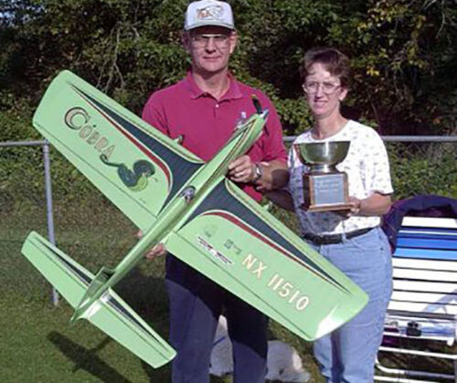 """COBRA Classic 56/"""" Stunt for .35-.46 by Steve Wooley Model Airplane Plans UC"""