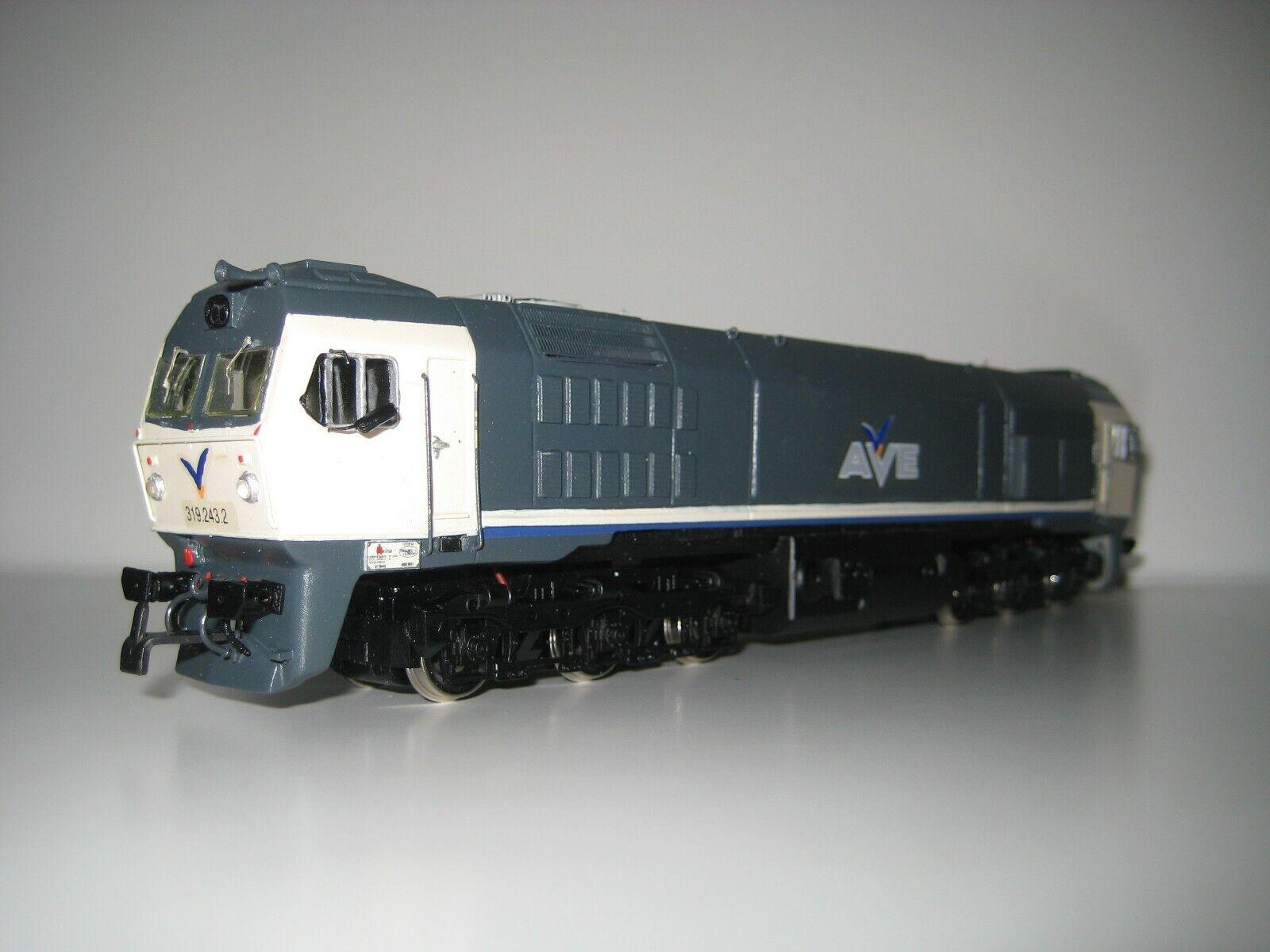 Mehano H0 - Locomotora artesanal 319.243.2 AVE