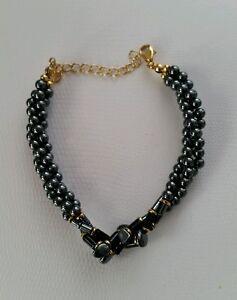 Stone-039-N-039-String-Hematite-Bracelet