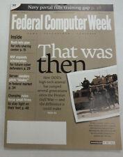Federal Computer Week Magazine DOD's High Tech Arsenal February 2003 071515R