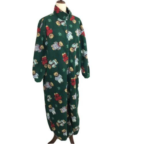Vintage Teddy Bear Dressing Robe House coat 50s 60