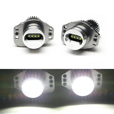 Error Free Xenon 6W CREE LED Angel Eyes Halo Ring Light For BMW E90 E91 Pre-LCI