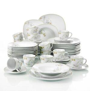 Image Is Loading Modern Kitchen Dinnerware Dinner Set Plates Bowls Tableware