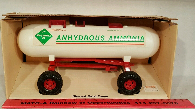 Ertlanhydrous Ammonnia Tanque 1/16 granja implementar réplica diecast coleccionables