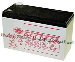 Mighty Mule Fm600 Fm150 Battery 12 Volt 7 0 Amp Hr