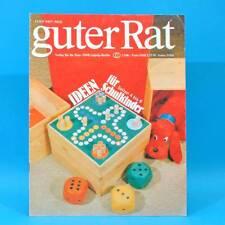 Guter Rat 3-1981 Verlag für die Frau DDR Notarem-Fernglas Trockensträuße Grill B